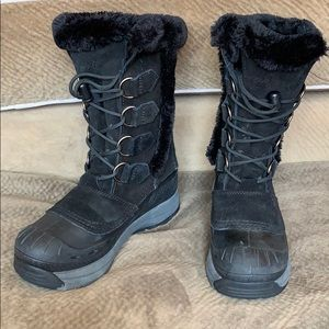 Baffin winter snow fur boot rubber insulated warm
